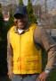 Yellow Mesh Motorcycle Vest