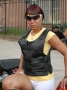 Bullet Proof Style Ladies Black Zippered Motorcycle Vest